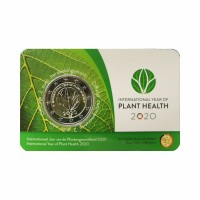 "Belgium 2020 - ""Plant Health"" - coincard (Duch version)"