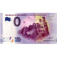San Marino 2017 - 0 Euro banknote - Republica di San Marino - UNC