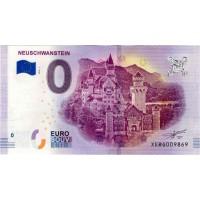 Nemčija 2018 - 0 Euro bankovec - Neuschwanstein - UNC
