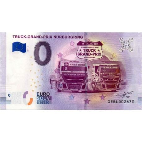 Germany 2018 - 0 Euro banknote - Truck-Grand-Prix Nürburgring - UNC