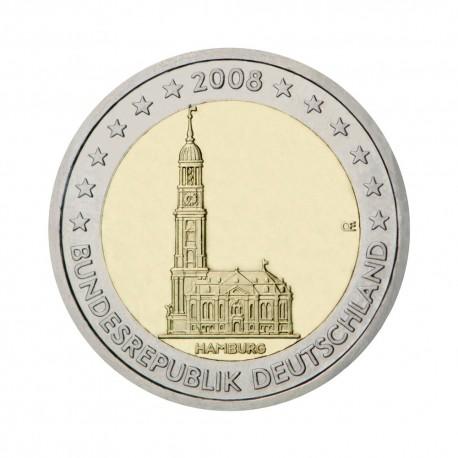 """Nemčija 2008 - """"Hamburg"""" - D - UNC"""