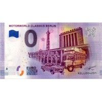 Nemčija 2019 - 0 Euro bankovec - Motorworld Classics Berlin - UNC