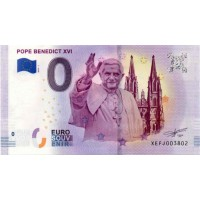 Nemčija 2019 - 0 Euro bankovec - Pope Benedict XVI - UNC