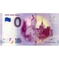 Nemčija 2019 - 0 Euro bankovec - Pope John Paul I - UNC