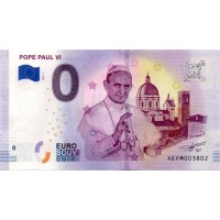 Germany 2019 - 0 Euro banknote - Pope Paul VI - UNC