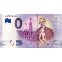 Germany 2019 - 0 Euro banknote - Pope Pius XII - UNC