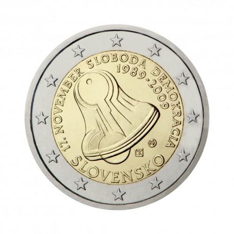 """Slovaška 2009 - """"Žametna revolucija"""" - UNC"""