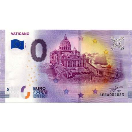 Vatican 2019 - 0 Euro banknote - Vaticano 2 - UNC