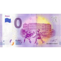 Hrvaška 2019 - 0 Euro bankovec - Pula - UNC