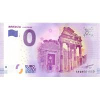 Italija 2017 - 0 Euro Bankovec - Brescia - UNC