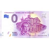 Italy 2018 - 0 Euro Banknote -Gorgonzola - Serbelloni Mausoleum - UNC