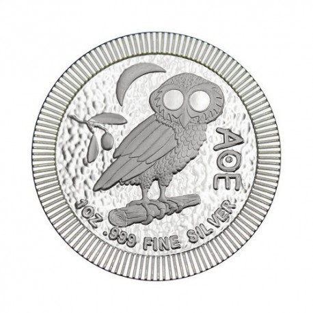 New Zealand Athena Owl 1 oz Silver 2020