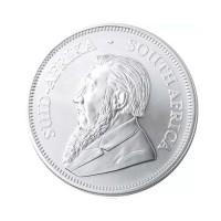 South African Krugerrand 1 oz Silver 2020