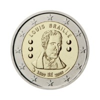 "Belgija 2009 - ""Louis Braille"" - UNC"
