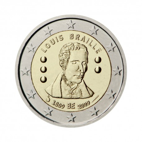 "Belgium 2009 - ""Louis Braille"" - UNC"