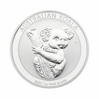 Avstralska koala 1 oz srebrnik 2020