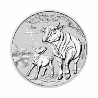 Australia Lunar III - Ox - 1 oz Silver 2021