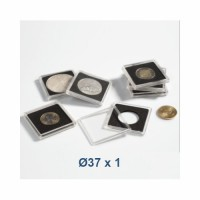 Coin Capsule QUADRUM 37 mm - Leuchtturm (1 piece)