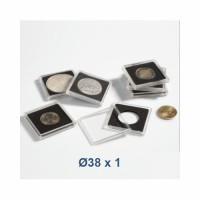 Coin Capsule QUADRUM 38 mm - Leuchtturm (1 piece)