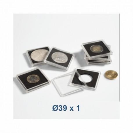 Coin Capsule QUADRUM 39 mm - Leuchtturm (1 piece)