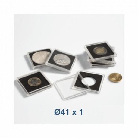 Coin Capsule QUADRUM 41 mm - Leuchtturm (1 piece)