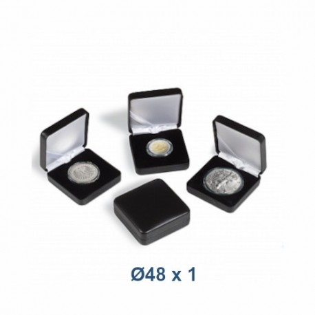 Coin Box NOBILE 48 mm - black