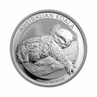 Australian Koala 1 oz Silver 2012