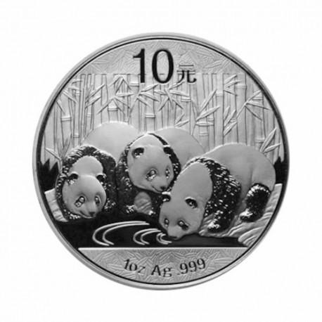 China - Panda - 1oz Silver 2013