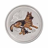 Australia Lunar II - Dog - 0.25 oz (1/4 oz) Silver 2018
