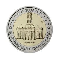 """Nemčija 2009 - """"Saarland"""" - F - UNC"""