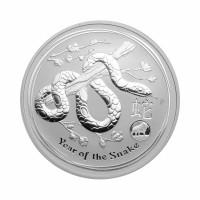 Australia Lunar II - Snake (Privy) - 1 oz Silver 2013