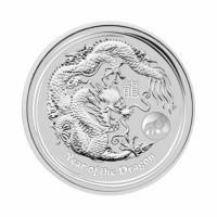 Australia Lunar II - Dragon (Privy) - 1 oz Silver 2012