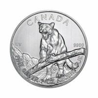 Canada - Wildlife - Cougar 1 oz Silver 2012