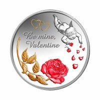 Niue - Be My Valentine - Angel Love - 1 oz Silver 2014