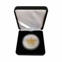 Canada Maple Leaf 1 oz Silver 2011 - Gilded - Gift Box