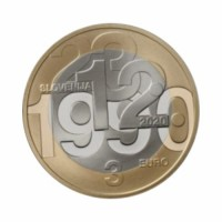"Slovenia 3 euro 2020 - ""Referendum on Slovenia's independence"" - UNC"
