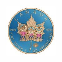 Kanada 2019 - Javorjev list - Družinski dan - 1 Oz Srebrnik