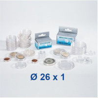 Capsule 26 mm - for 2 EUR coin (1 piece)
