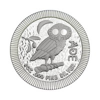 New Zealand Athena Owl 1 oz Silver 2021