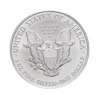Ameriški orel 1 oz srebrnik 2021