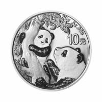Kitajska Panda 30g srebrnik 2021