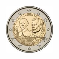 "Luksemburg 2021 - ""Grand Duke Jean - obletnica rojstva"" - UNC"