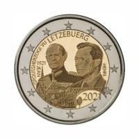 """Luksemburg 2021 - """"Grand Duke Jean - obletnica rojstva"""" - Foto verzija - UNC"""