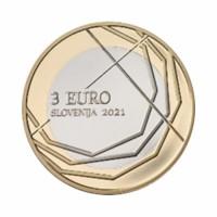 """Slovenia 3 euro 2021 - """"Škofja Loka passion"""" - UNC"""