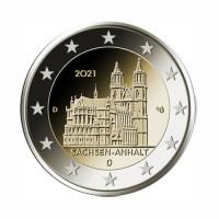 """Nemčija 2021 - """"Sachsen-Anhalt """" - D - UNC"""