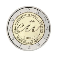 "Belgium 2010 - ""Presidency of the Council of the EU"" - UNC"