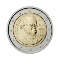 "Italy 2010 - ""Count of Cavour"" - UNC"