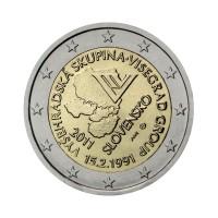 """Slovakia 2011 - """"Visegrad Group"""" - UNC"""