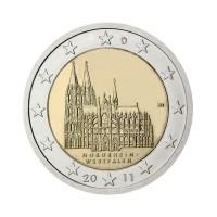 """Nemčija 2011 - """"Vestfalija"""" - J - UNC"""