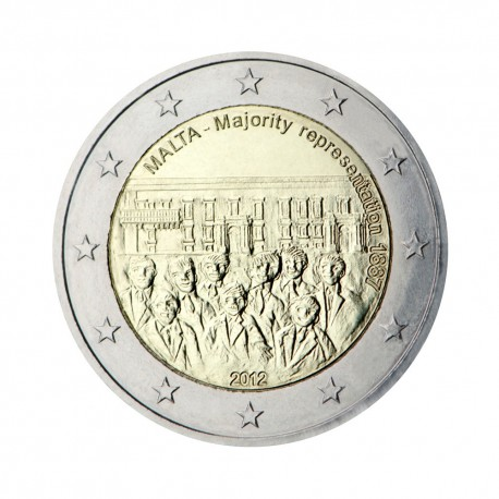 "Malta 2012 - ""Majority representation 1887"""